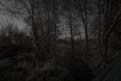 Stederdorf bei Nacht